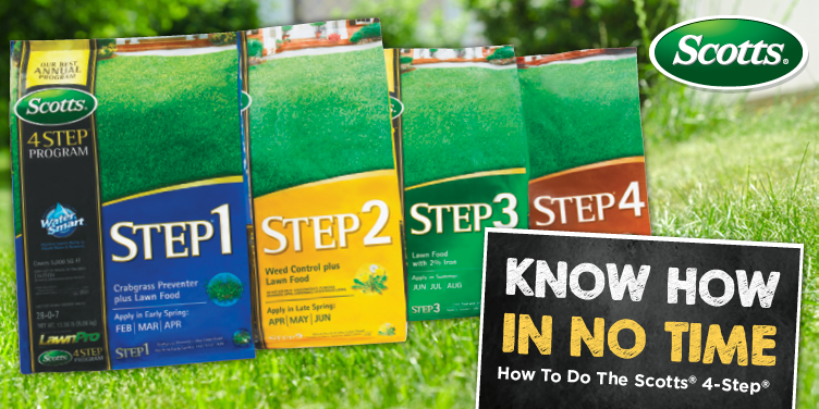 How to Start the Scotts 4-Step Program - Great Lakes Ace Hardware Store