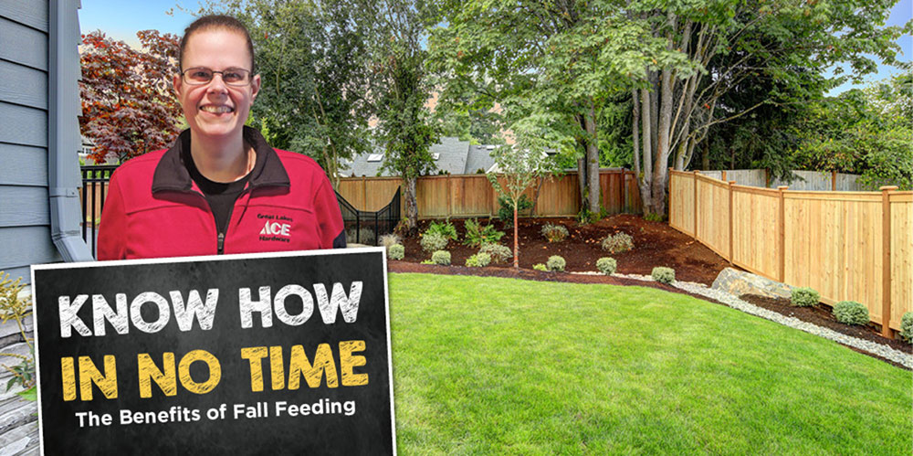 The Benefits of Fall Feeding - Great Lakes Ace Hardware Store