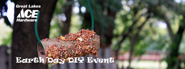 Earth Day DIY Bird Feeders - Great Lakes Ace Hardware Store