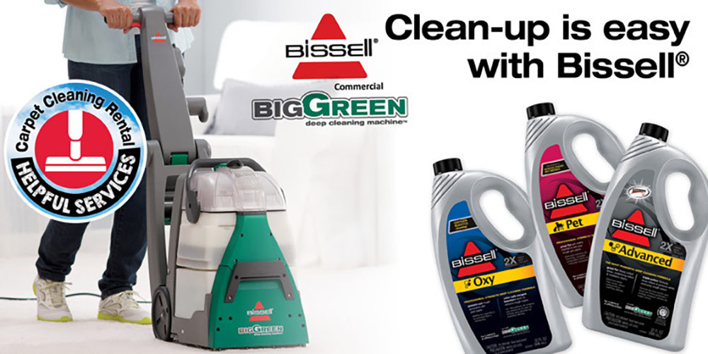 Carpet Cleaning Machine Rental - Great Lakes Ace Hardware Store