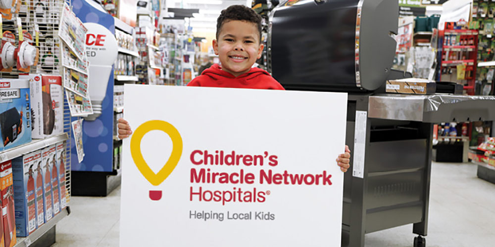 Childrens Miracle Network - Great Lakes Ace Hardware Store