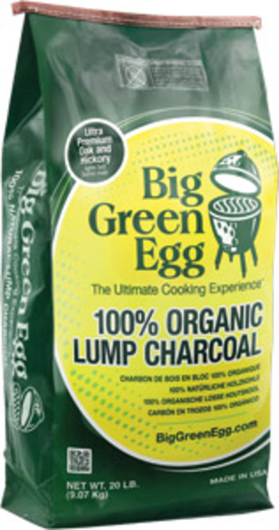20 LB. BIG GREEN EGG ORGANIC LUMP CHARCOAL - Great Lakes Ace Hardware Store