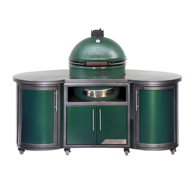 Big Green Egg Custom Cooking Island - Great Lakes Ace Hardware Store