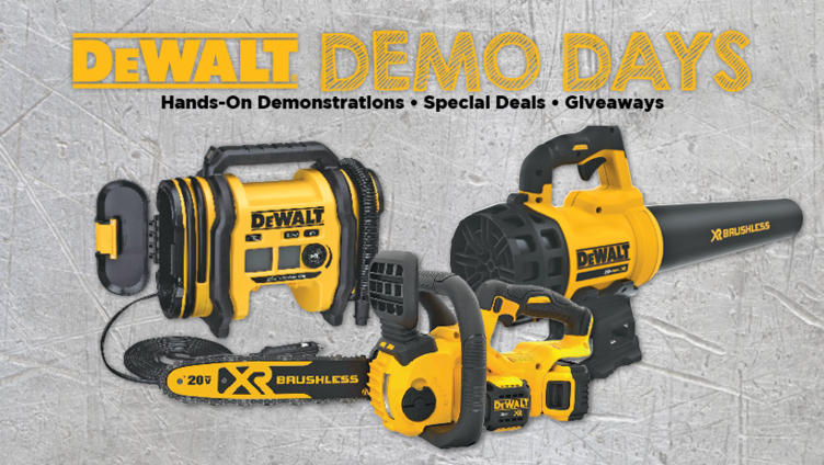 DeWALT Demo Day - Great Lakes Ace Hardware Store