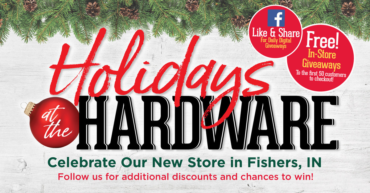 Fishers Grand Re-Opening - Great Lakes Ace Hardware Store