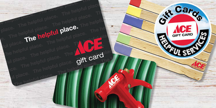 Gift Cards - Great Lakes Ace Hardware Store