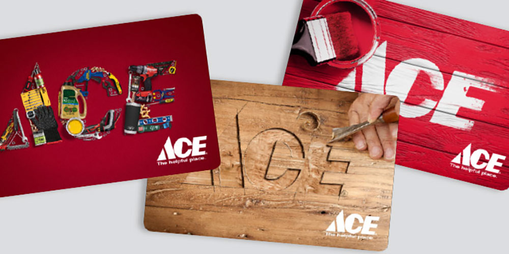 Gift Cards Great Lakes Ace Hardware Store