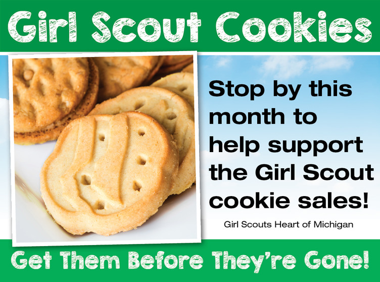 Girl Scout Cookie Sales - Great Lakes Ace Hardware Store