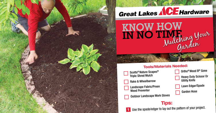 Mulching Your Garden - Great Lakes Ace Hardware Store