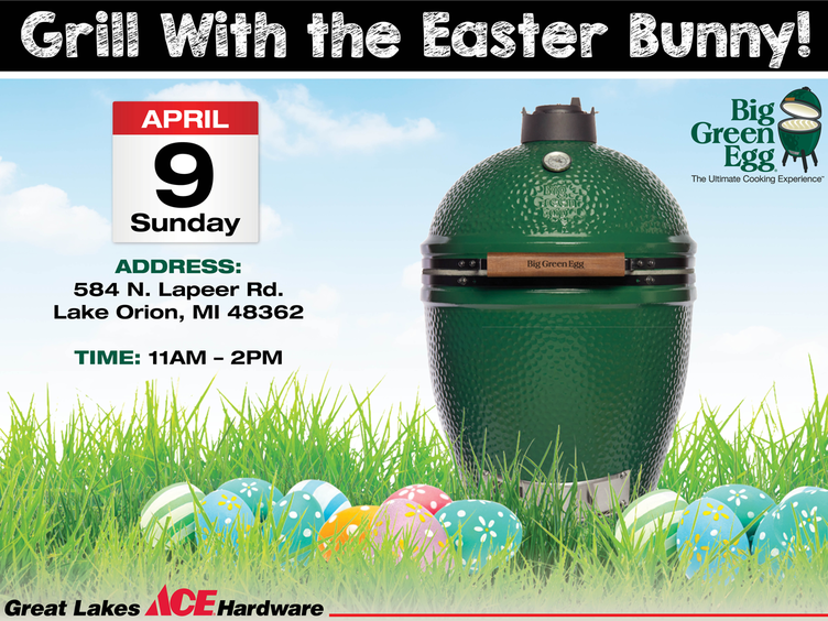 Grilling with the Easter Bunny - Great Lakes Ace Hardware Store