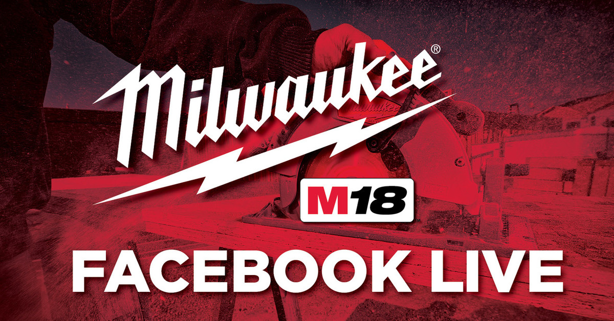 Milwaukee Tools Facebook LIVE Demo - Great Lakes Ace Hardware Store
