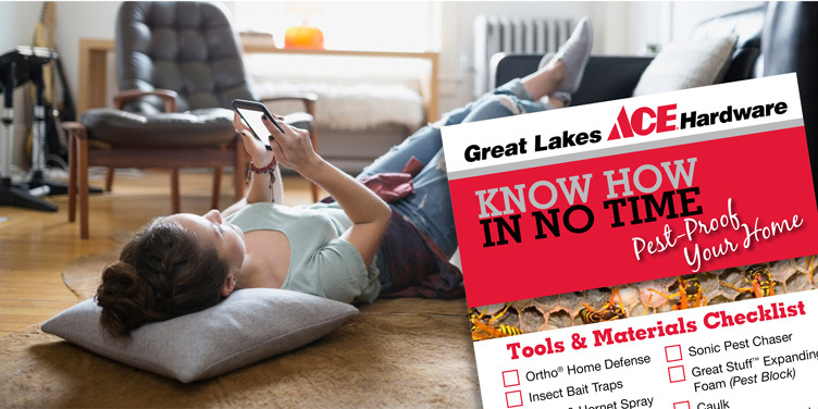 Pest Proof Your Home - Great Lakes Ace Hardware Store