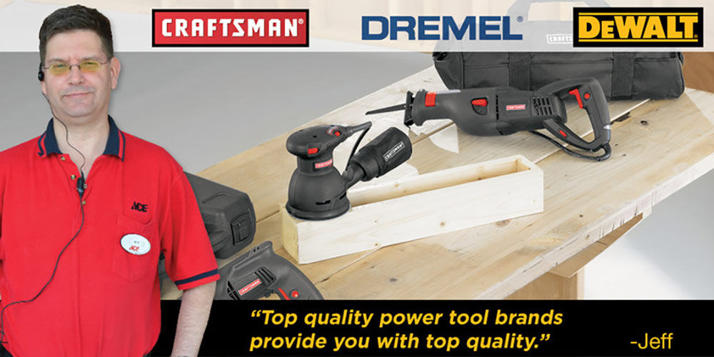 Power Tools - Great Lakes Ace Hardware Store