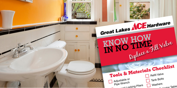 Replace a Fill Valve - Great Lakes Ace Hardware Store