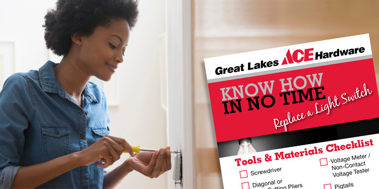 Replace a Light Switch - Great Lakes Ace Hardware Store