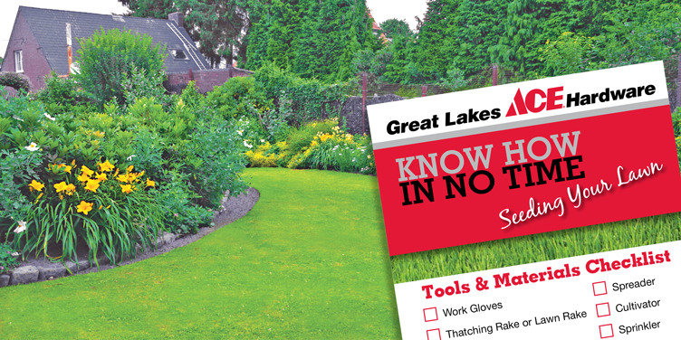 Seeding Your Lawn - Great Lakes Ace Hardware Store