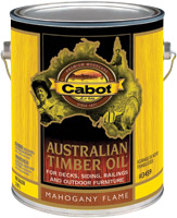 Austrailian Timber Oil Mahogany Flame