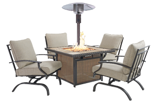 Fire Pits, Patio Heaters & Patio Furniture