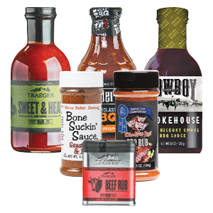 Grill Rubs & Sauces