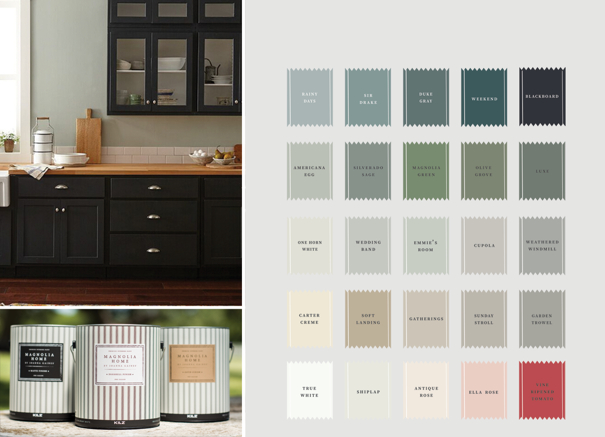 Magnolia Home Color Swatches