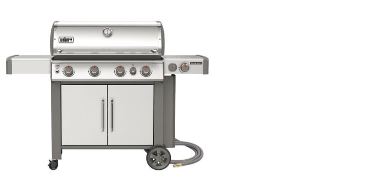 Weber Genesis 174 Ii S 435 Natural Gas Grill Great Lakes